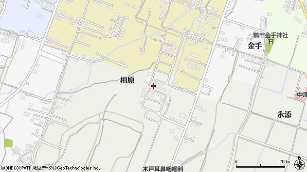 大分県中津市相原3838周辺の地図