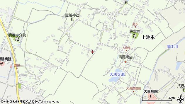 大分県中津市上池永649周辺の地図