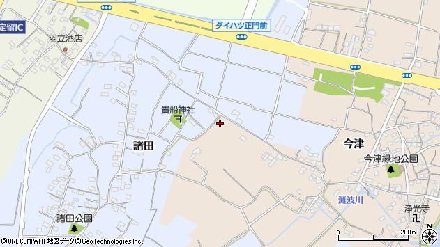 大分県中津市今津332周辺の地図