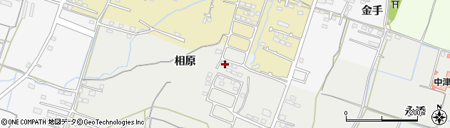 大分県中津市相原3837周辺の地図
