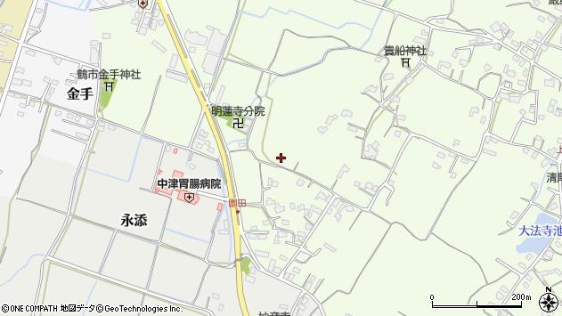 大分県中津市上池永746周辺の地図