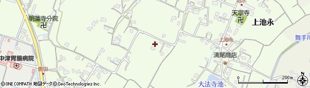 大分県中津市上池永652周辺の地図