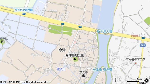 大分県中津市今津69周辺の地図