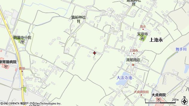 大分県中津市上池永650周辺の地図