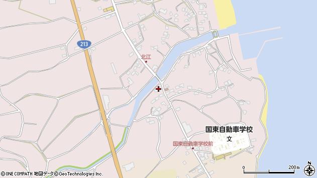 大分県国東市国東町北江4118周辺の地図