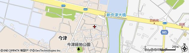 大分県中津市今津11周辺の地図