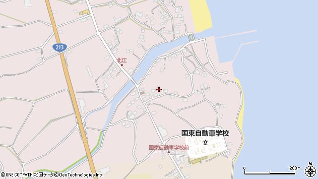 大分県国東市国東町北江4164周辺の地図