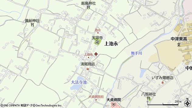 大分県中津市上池永365周辺の地図