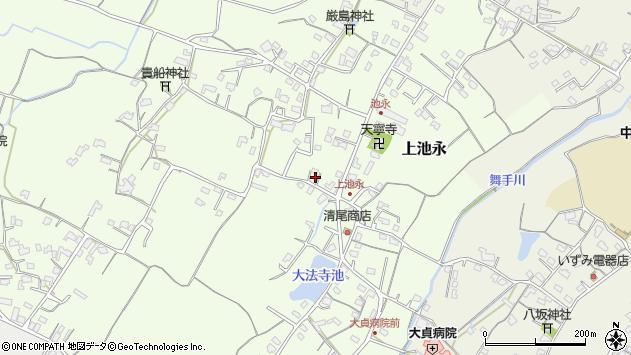 大分県中津市上池永430周辺の地図