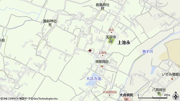 大分県中津市上池永432周辺の地図