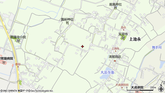 大分県中津市上池永922周辺の地図
