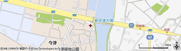 大分県中津市今津3周辺の地図