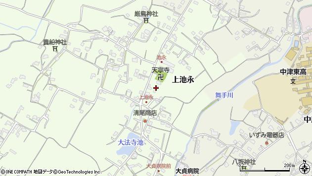 大分県中津市上池永362周辺の地図