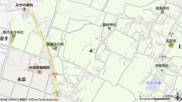 大分県中津市上池永785周辺の地図