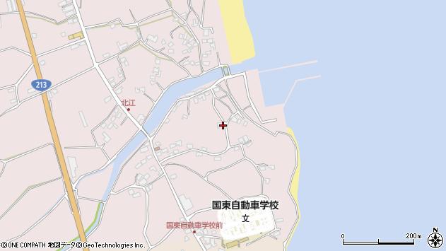 大分県国東市国東町北江4293周辺の地図
