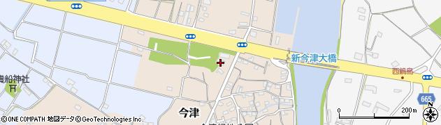 大分県中津市今津40周辺の地図