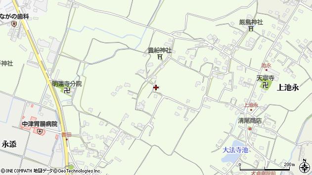 大分県中津市上池永338周辺の地図