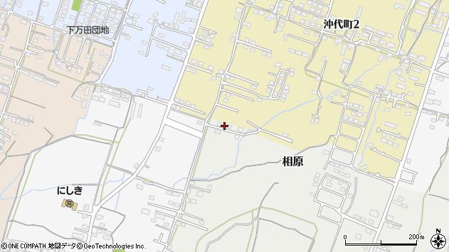 大分県中津市相原3806周辺の地図