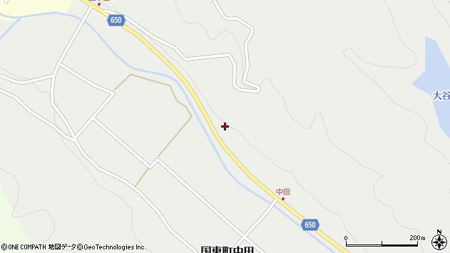 大分県国東市国東町中田2659周辺の地図