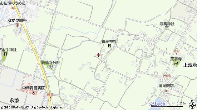 大分県中津市上池永772周辺の地図