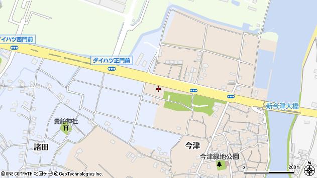 大分県中津市今津23周辺の地図