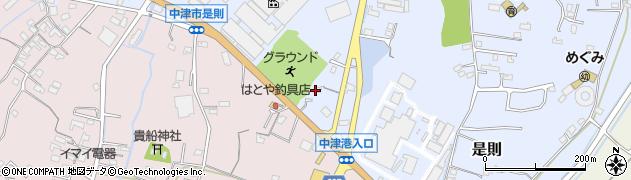 大分県中津市是則736周辺の地図