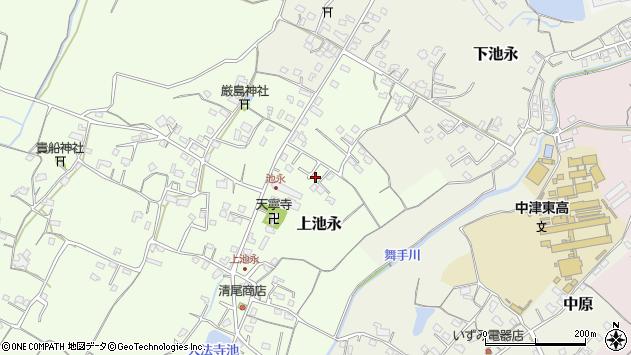 大分県中津市上池永337周辺の地図