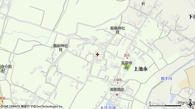 大分県中津市上池永909周辺の地図