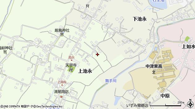 大分県中津市上池永273周辺の地図