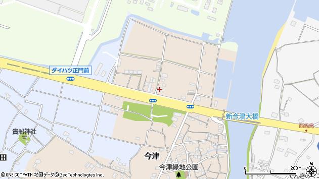 大分県中津市今津32周辺の地図
