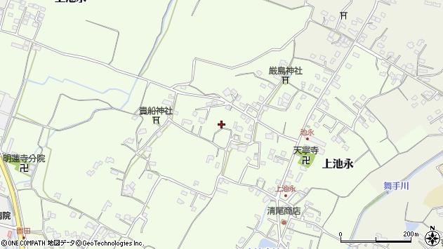 大分県中津市上池永896周辺の地図