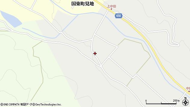 大分県国東市国東町中田1649周辺の地図