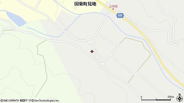大分県国東市国東町中田1646周辺の地図