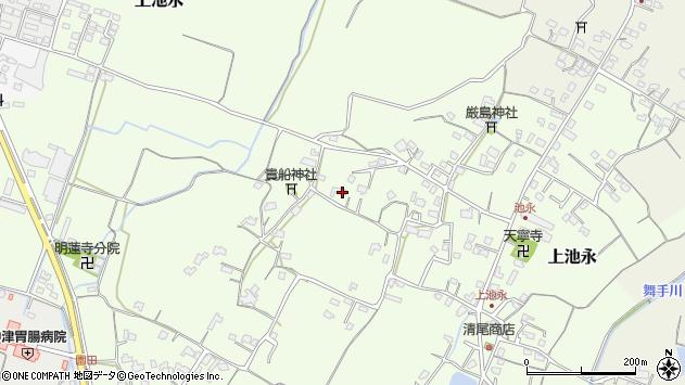 大分県中津市上池永881周辺の地図