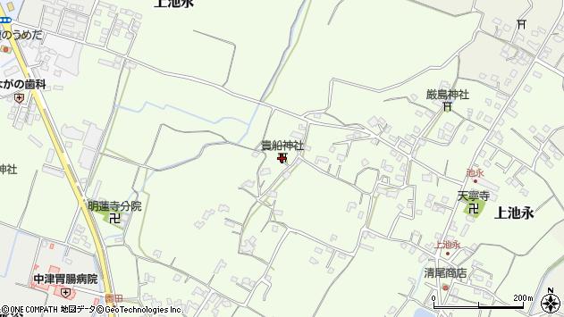 大分県中津市上池永841周辺の地図