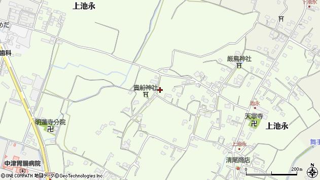 大分県中津市上池永847周辺の地図
