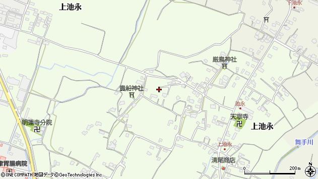 大分県中津市上池永882周辺の地図