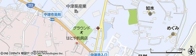 大分県中津市是則728周辺の地図
