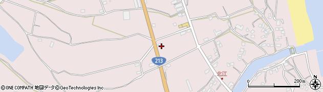 大分県国東市国東町北江3120周辺の地図