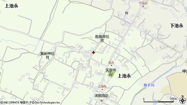 大分県中津市上池永406周辺の地図