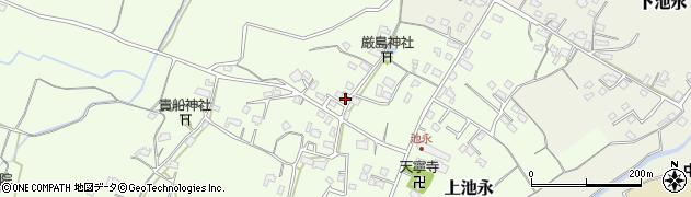 大分県中津市上池永958周辺の地図