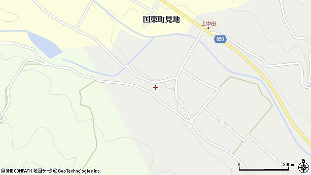 大分県国東市国東町中田1435周辺の地図