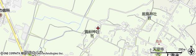 大分県中津市上池永843周辺の地図