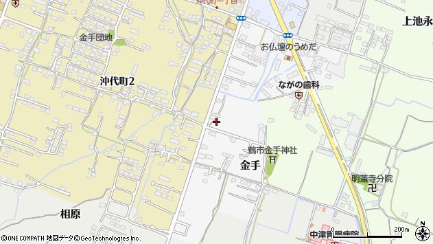 大分県中津市金手116周辺の地図