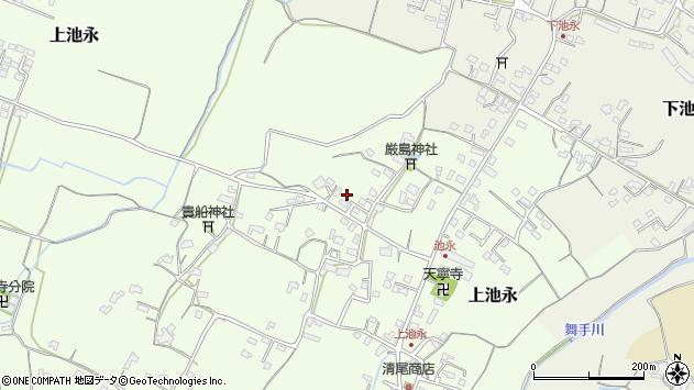大分県中津市上池永956周辺の地図