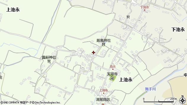 大分県中津市上池永965周辺の地図