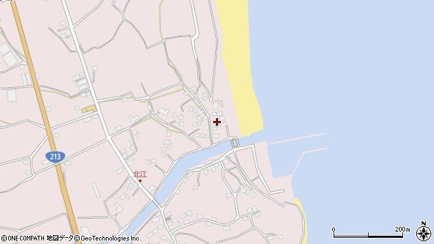 大分県国東市国東町北江3605周辺の地図