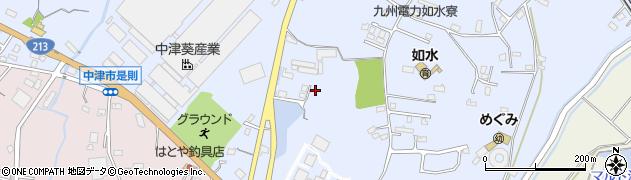 大分県中津市是則1088周辺の地図