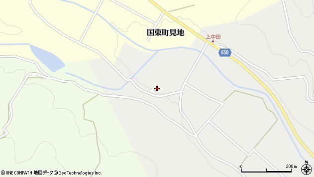 大分県国東市国東町中田1457周辺の地図