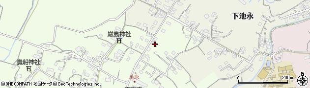 大分県中津市上池永321周辺の地図